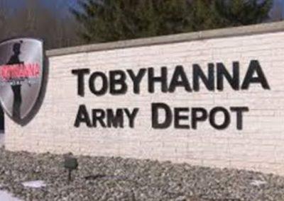 Tripping & Slipping Hazards – High Traffic Steps & Slick Epoxy Flooring: US Army Depot