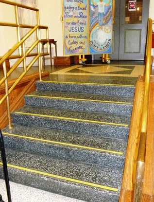 Loyola-Church-steps