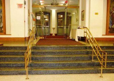 St. Ignatius Loyola Church Form-A-Tread Install